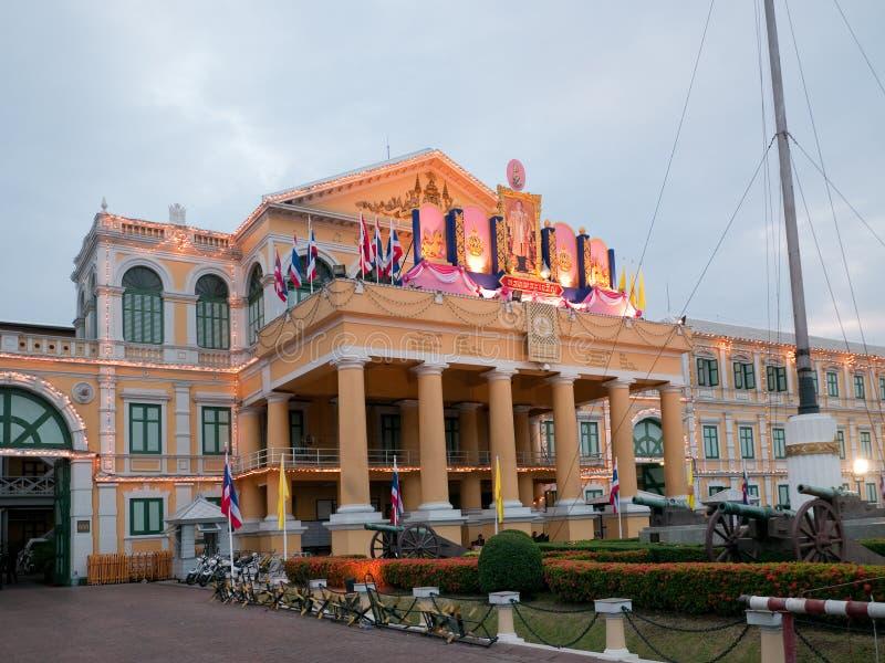 Bangkok Försvardepartement Thailand Royaltyfria Foton