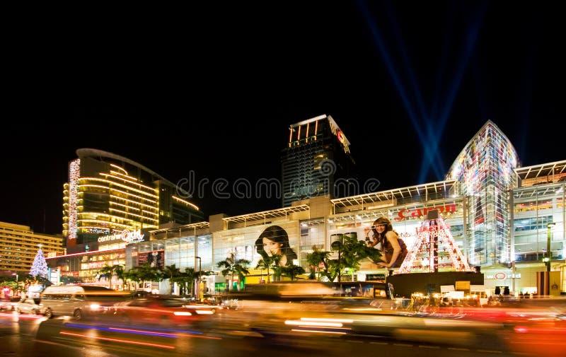 bangkok ferienatt royaltyfri foto