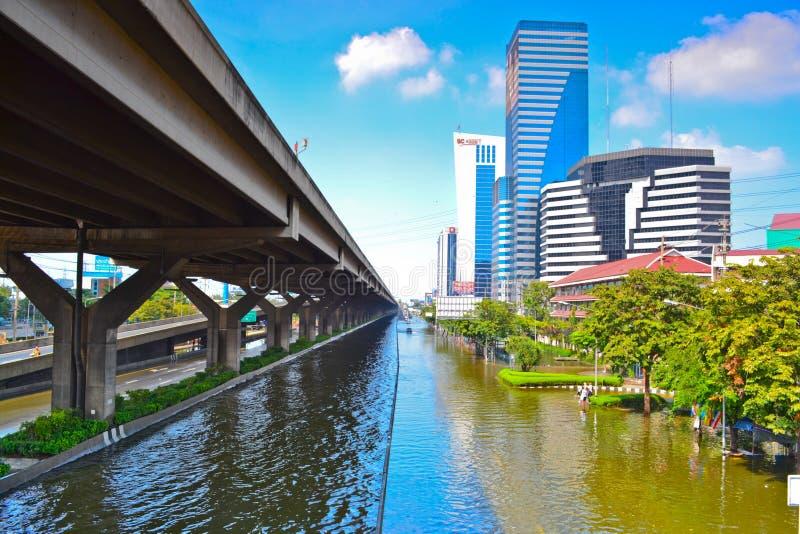 bangkok flod thailand fotografering för bildbyråer
