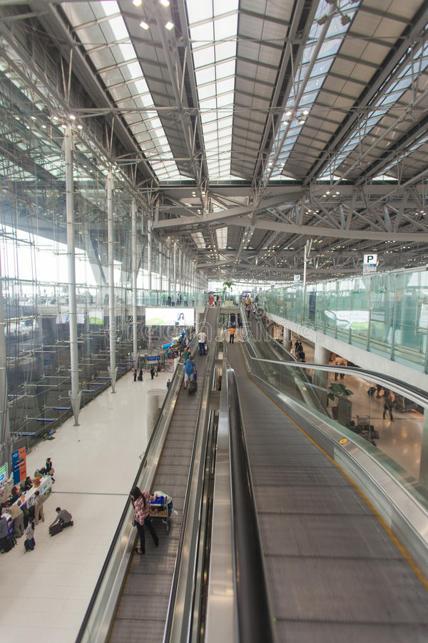 Bangkok-Flughafen stockbilder