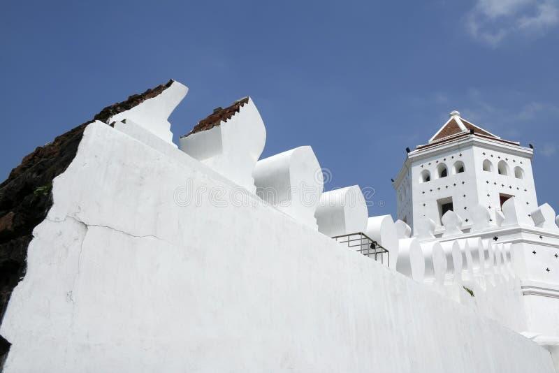 bangkok fortu phra sumen Thailand zdjęcia stock
