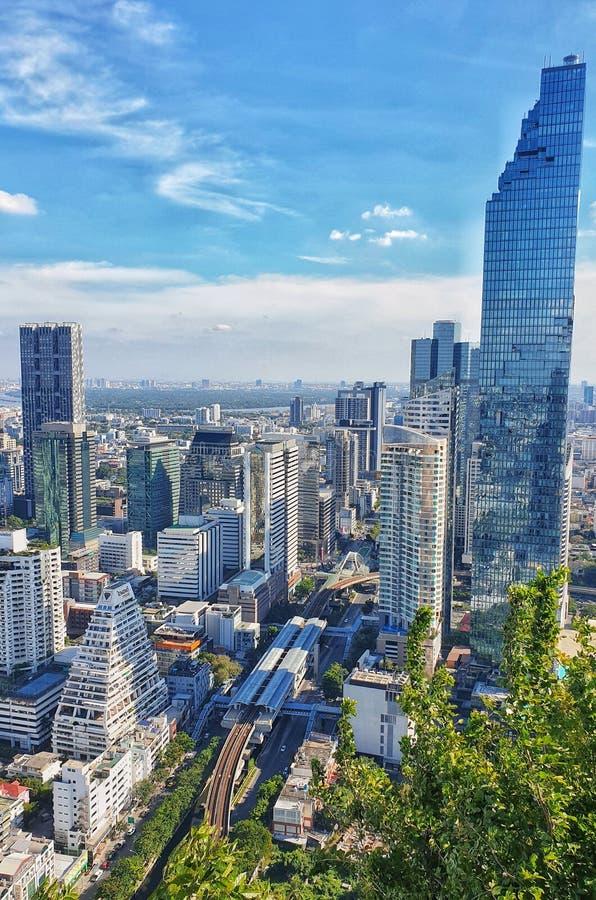 Bangkok-Gebäude lizenzfreie stockfotos