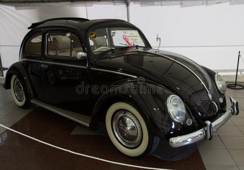BANGKOK - 22 giugno Volkswagen Beetle su esposizione al trentaseiesimo Bangk immagine stock