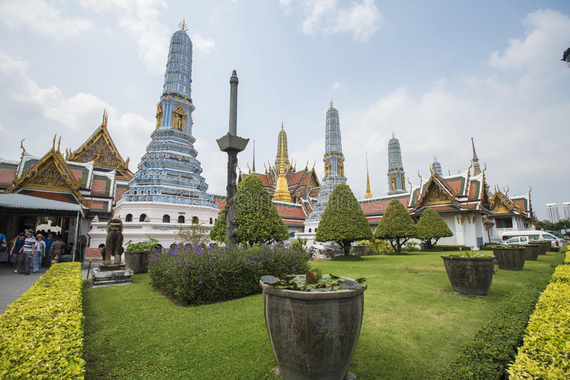 Bangkok-großartiger Palast stockbild