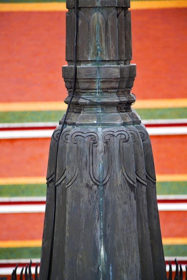 bangkok i för tempelThailand för th e färger för kors abstrakt begrepp taklägger wat arkivbilder