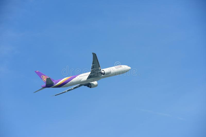 Bangkok international airport. royalty free stock images