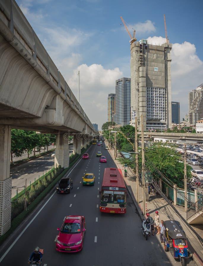 Bangkok ist das Kapital lizenzfreie stockbilder