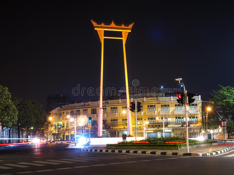 bangkok jätte- swing thailand royaltyfri bild