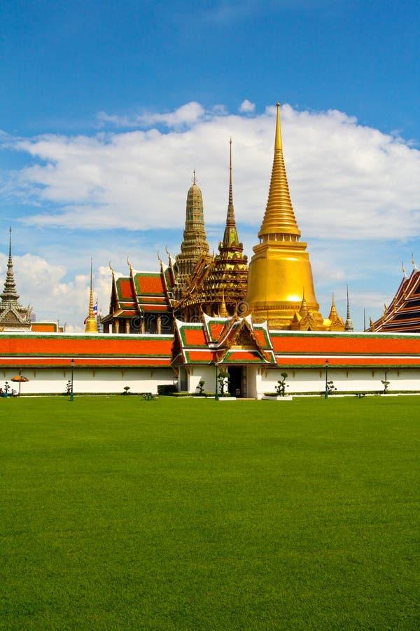bangkok kaeo królewiątka pałac phra królewski wat zdjęcia royalty free