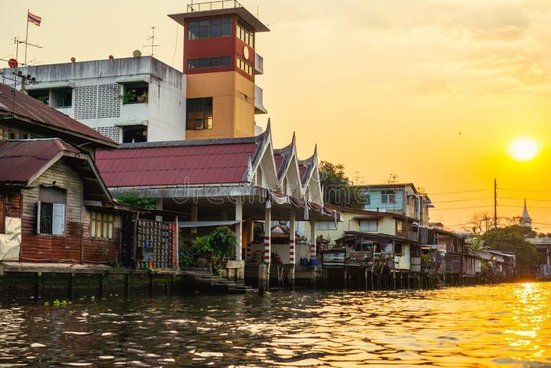 Bangkok Klongs photo libre de droits