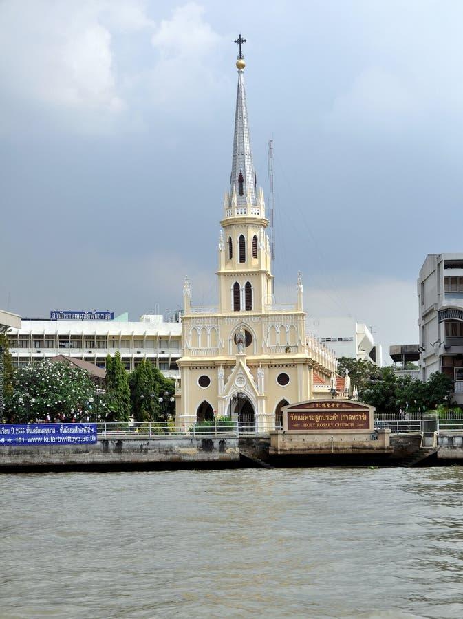 bangkok kościelny święty różana thailad obrazy royalty free