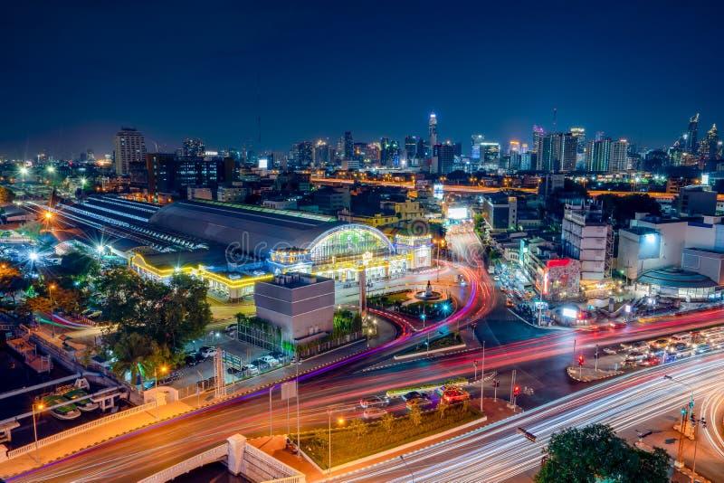 Bangkok Kolejowy StationHua Lamphong zdjęcia royalty free