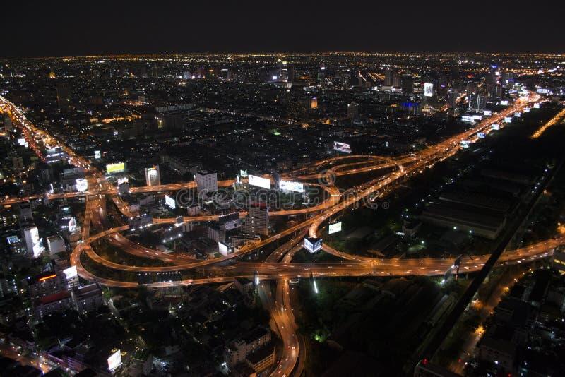 Bangkok ljus arkivfoto