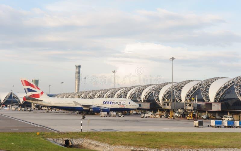 Bangkok lotnisko zdjęcie stock