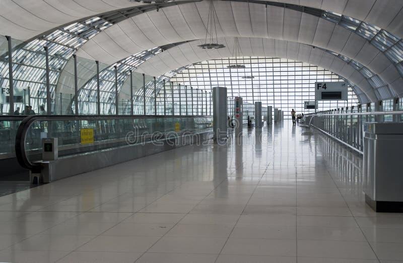 bangkok lotniskowy wnętrze zdjęcie stock