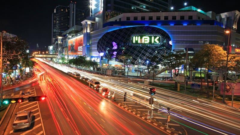 MBK Einkaufszentrum in Bangkok lizenzfreies stockbild