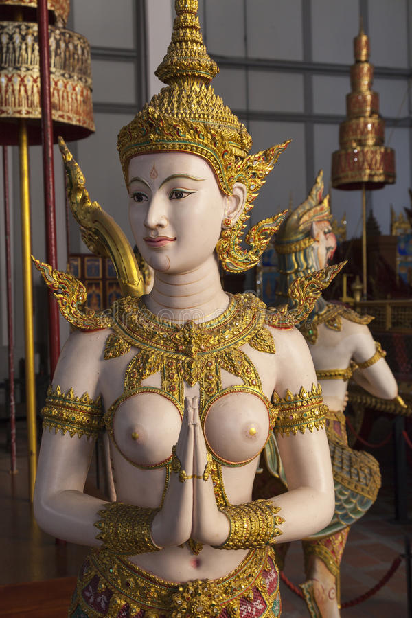Bangkok muzeum narodowe obrazy royalty free