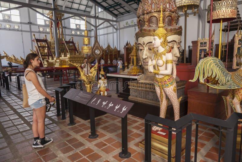 Bangkok muzeum narodowe zdjęcia royalty free