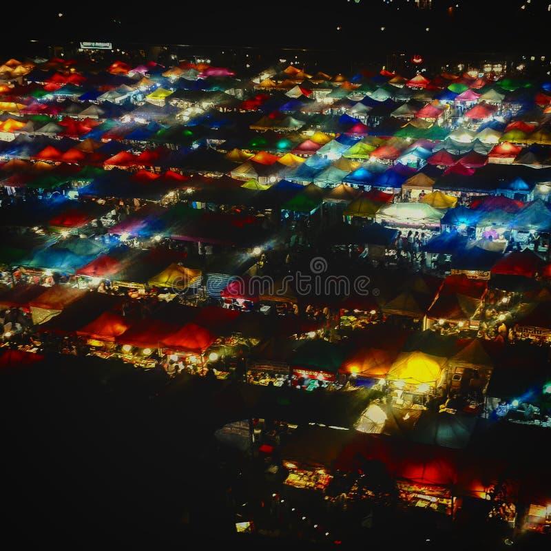 Bangkok-Nachtleben lizenzfreie stockfotografie