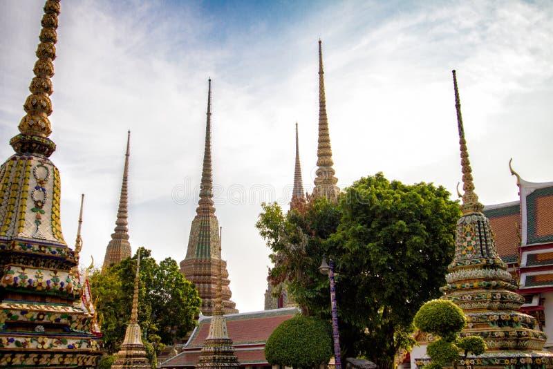 bangkok pho świątyni wat zdjęcia royalty free