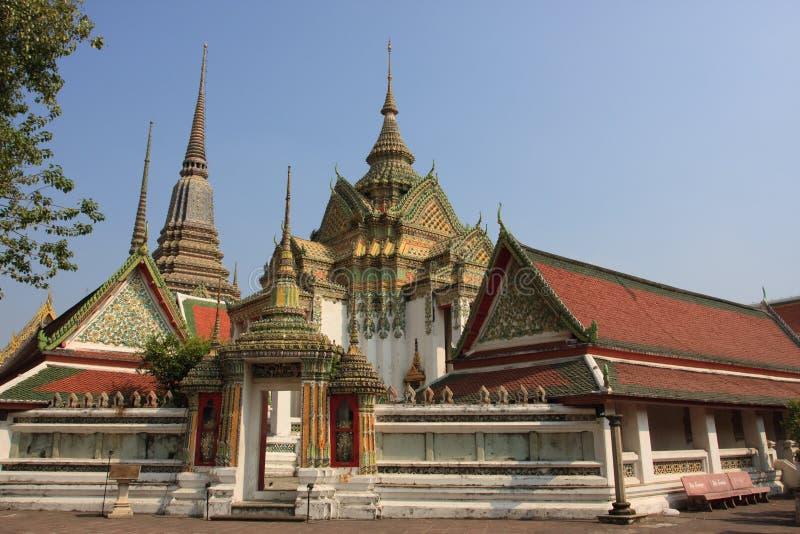 bangkok pho wat fotografia stock