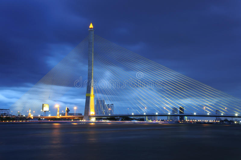 Bangkok Rama VIII bridge royalty free stock images
