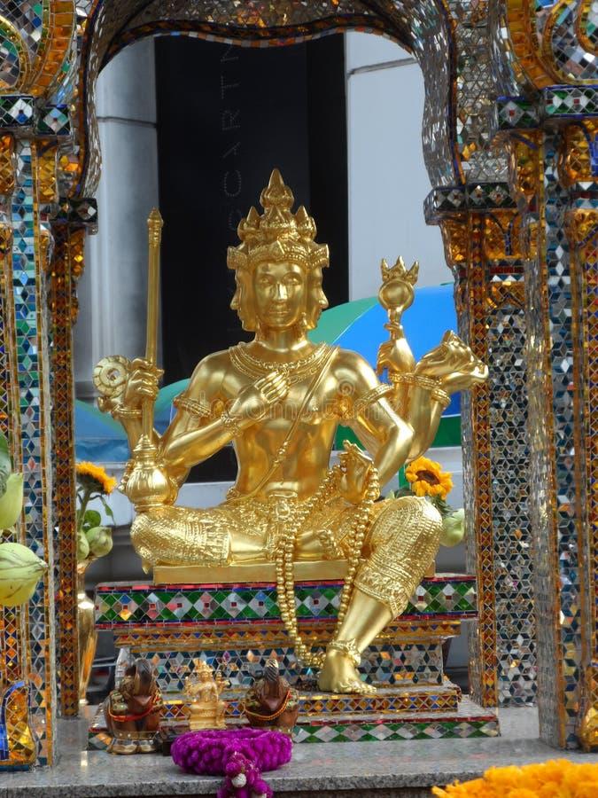 Bangkok remonta sus raíces a un pequeño puesto de operaciones durante el reino de Ayutthaya en el siglo XV, que creció eventual y fotografía de archivo
