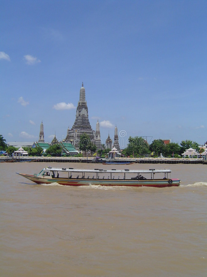 Free Bangkok River Royalty Free Stock Image - 1758666