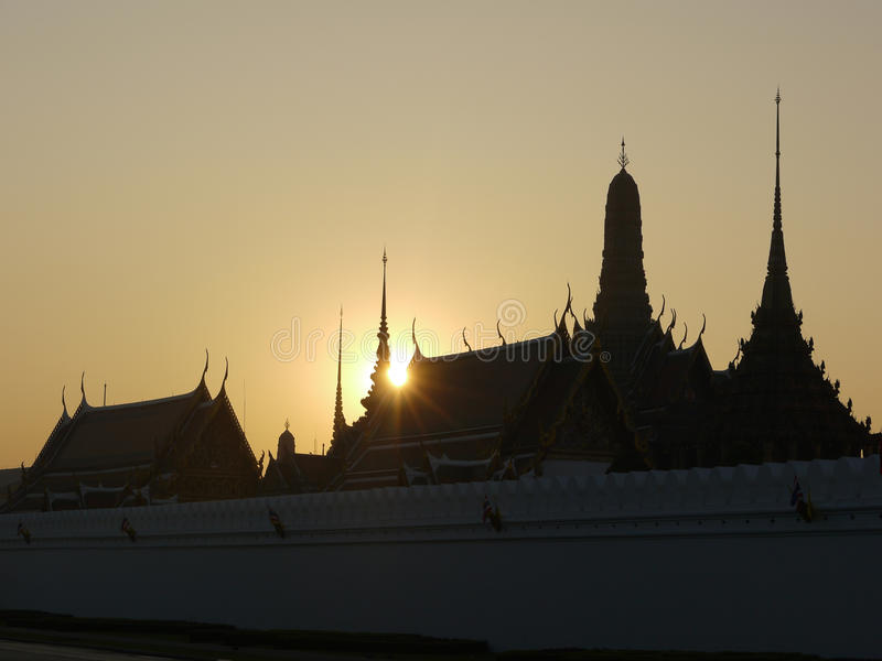 Bangkok Royal Palace Image stock