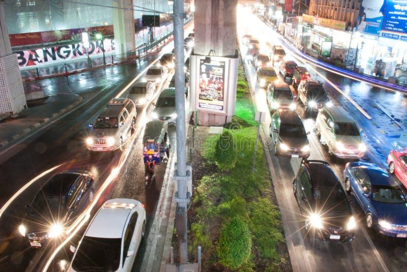 Bangkok ruch fotografia royalty free