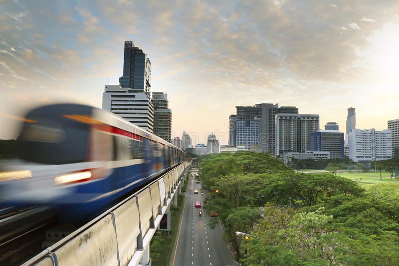 bangkok słońca fotografia stock