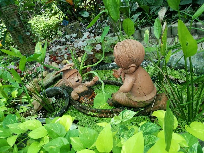 Bangkok - Santiphap Park Peace Park royalty free stock photo
