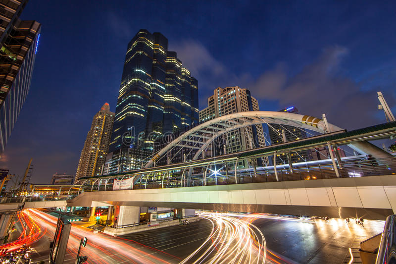 Download Bangkok Sathorn Building editorial stock image. Image of cityscape - 34944964
