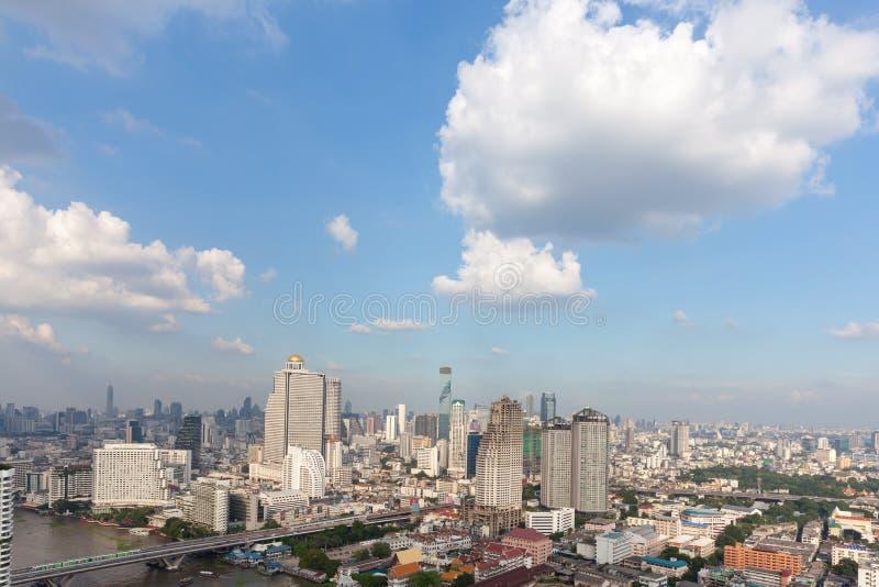 Bangkok scape, royaltyfri bild