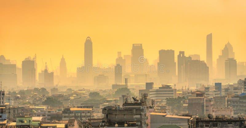 Bangkok skyline, Thailand stock fotografie