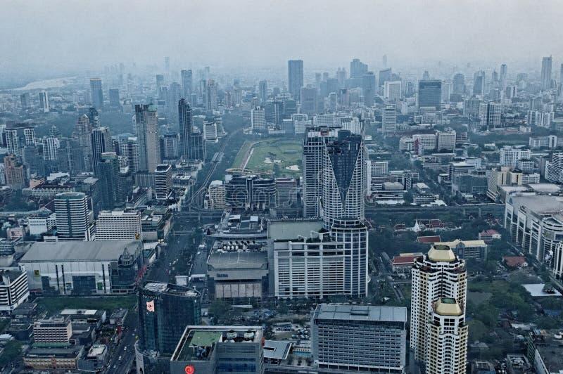 Bangkok Skyscrapers Editorial Photo