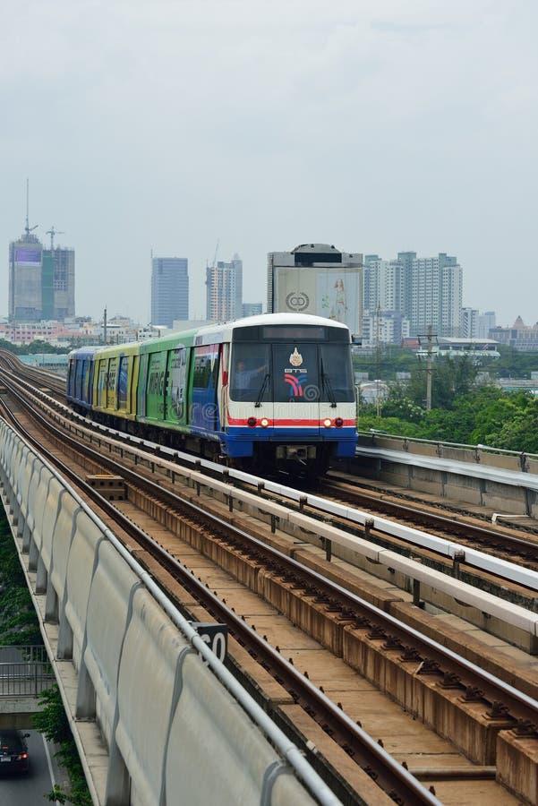 Bangkok Skytrain BTS immagini stock libere da diritti