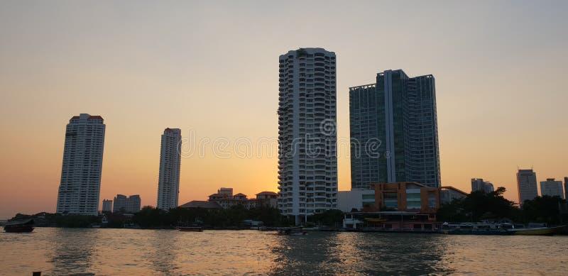 Bangkok stad arkivfoto