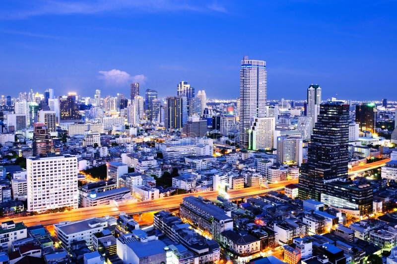 Bangkok stad royaltyfri bild