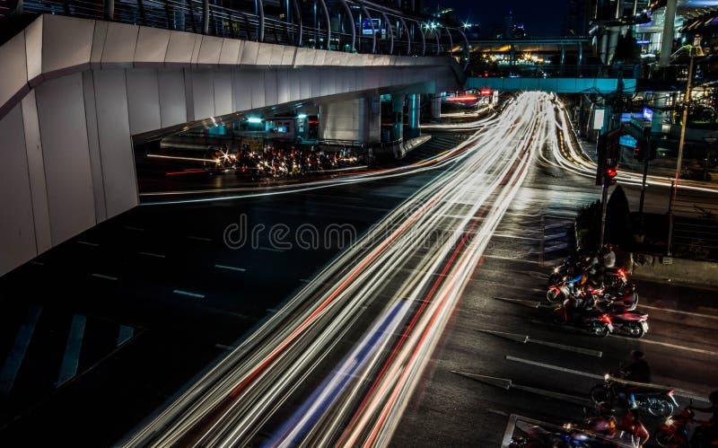 bangkok stadsscape royaltyfri foto