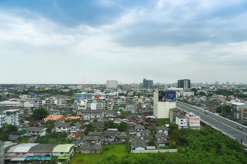 Bangkok-Stadt scape lizenzfreie stockfotografie