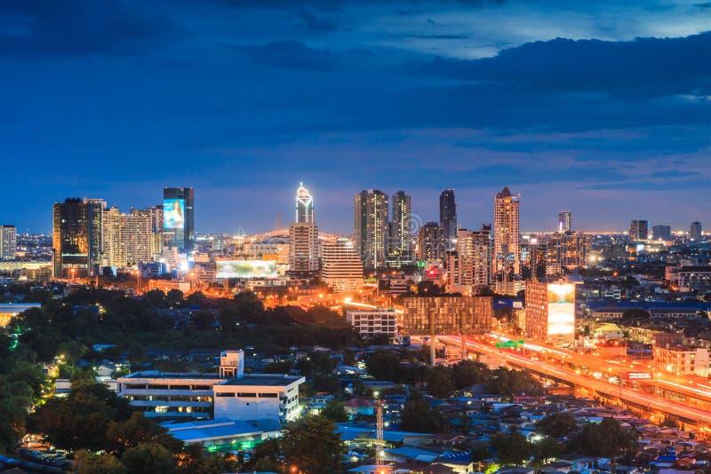Bangkok-Stadt von Thailand lizenzfreies stockbild