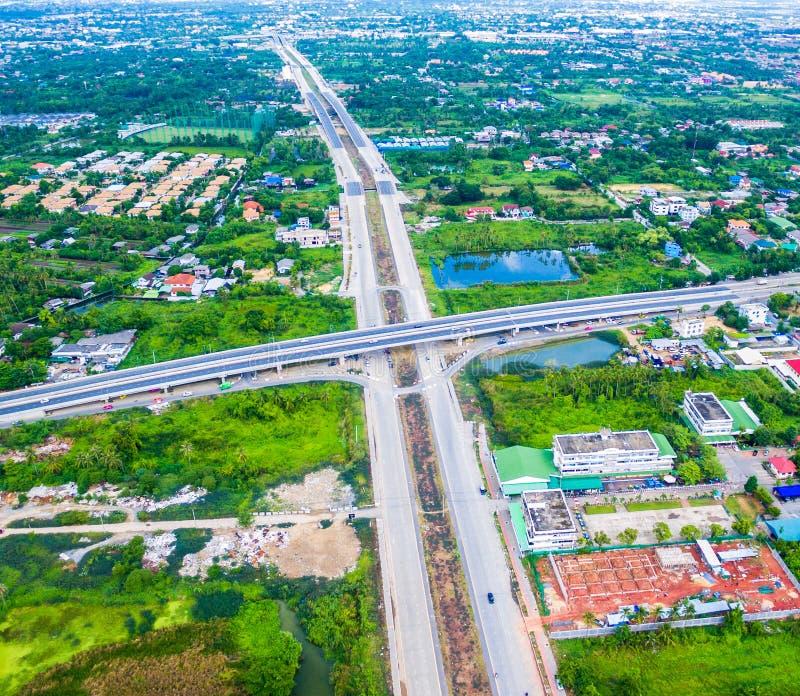 Bangkok-Stadt von Thailand stockfoto