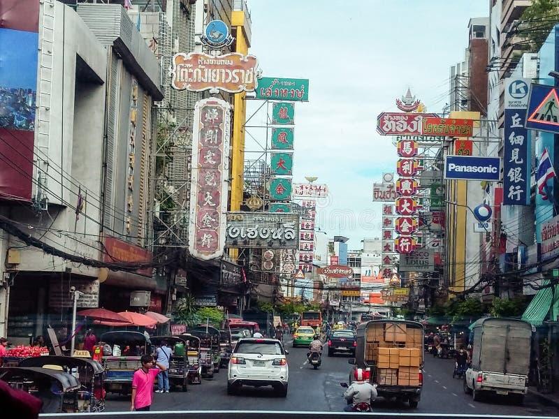 Bangkok-Stadtverkehr lizenzfreies stockfoto