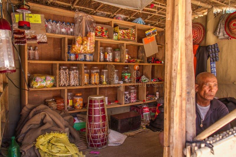 Bangkok storekeeper fotografia stock
