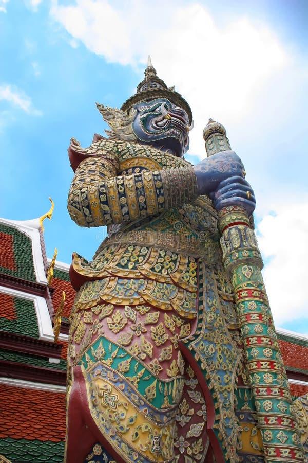bangkok storslagen guardslott royaltyfri bild