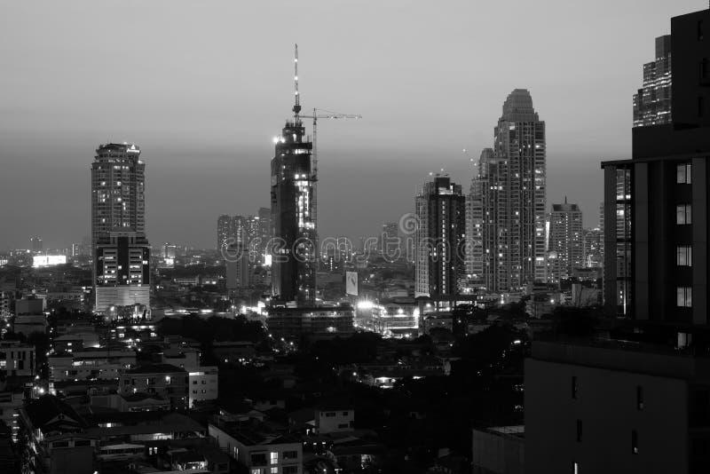 Bangkok su costruzione immagini stock libere da diritti