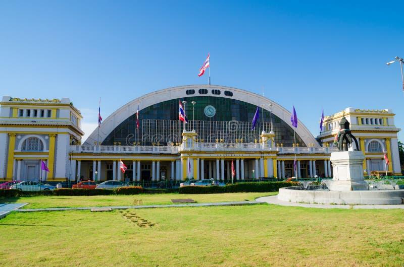 Bangkok Tailandia: Estación de tren imagen de archivo