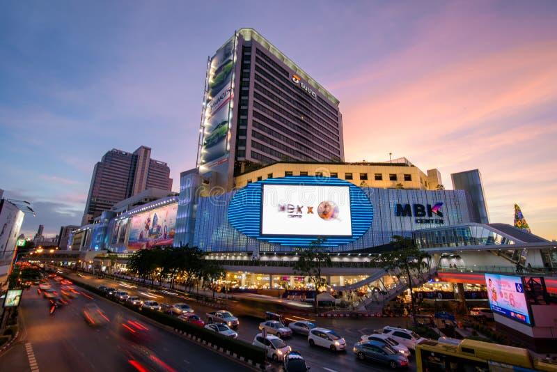 Bangkok, Tailandia 7 gennaio 2018: Centro di MBK, anche conosciuto come fotografie stock