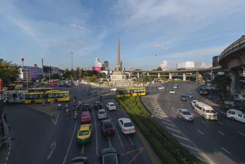 Bangkok, Tailandia 7 gennaio 2018: Victory Monument è un mili immagine stock